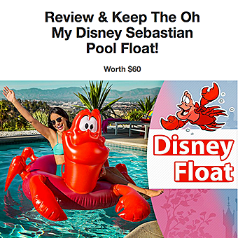 Disney Float