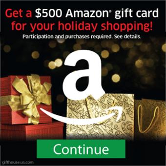 Amazon 500 GiftCard