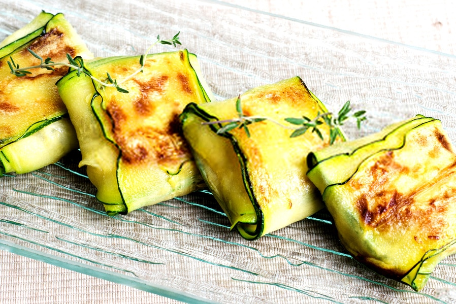 Spinach Zucchini Ravioli
