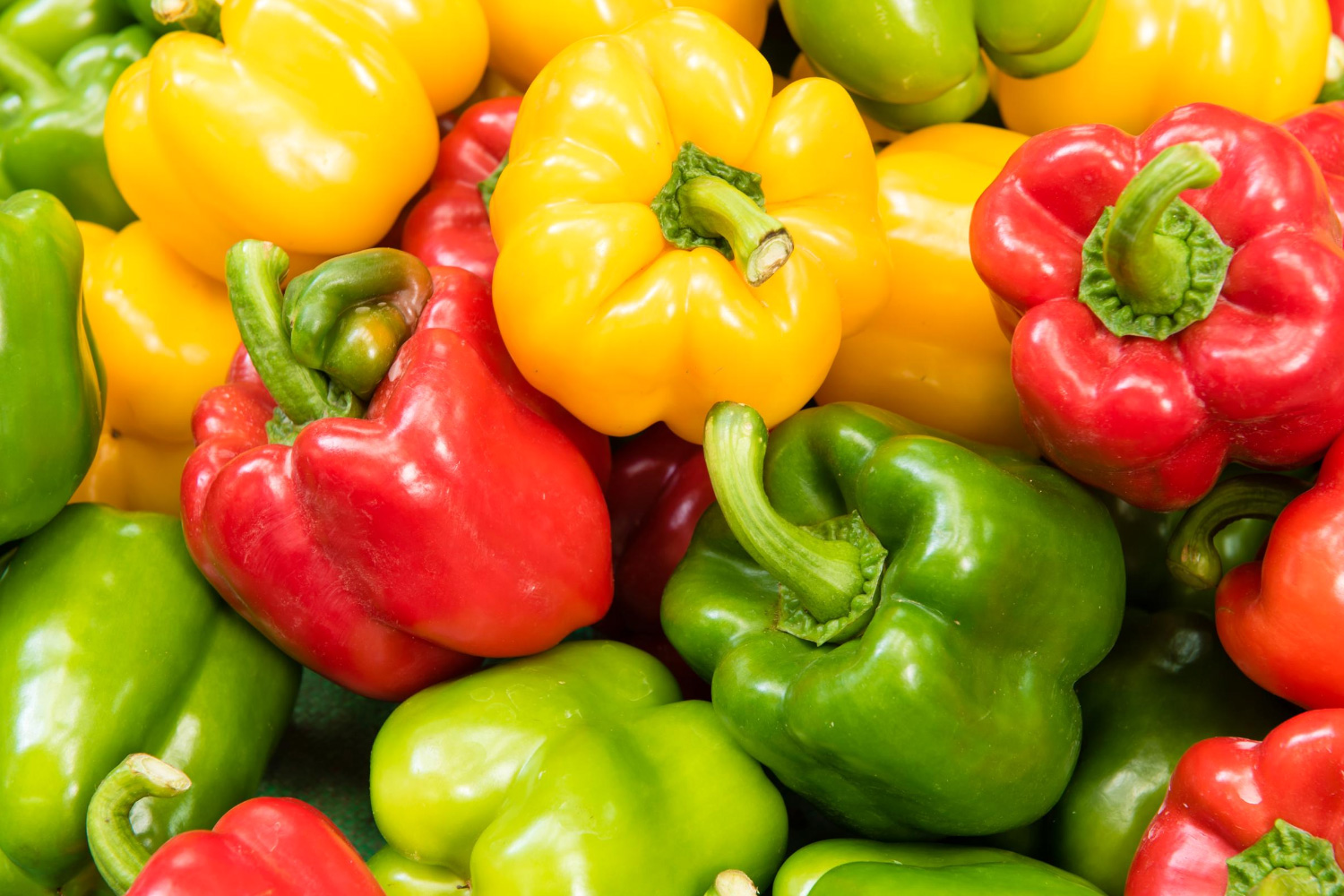 Crunchy, Sweet and Tasty Peppers
